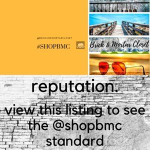 OUR REPUTATION @shopBMC